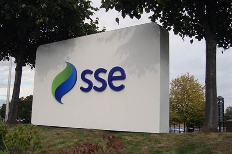 SSE expects to commission 4.3GW of new renewable energy capacity by 2020, it said in its its trading statement for the third quarter of 2017