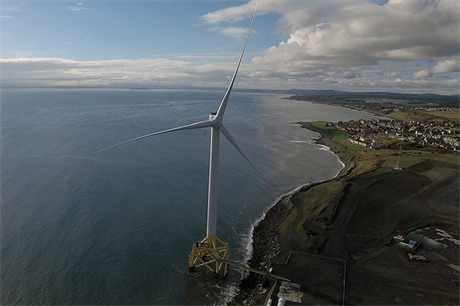 ORE Catapult acquired the 7MW Samsung offshore prototype installed at Levenmouth, Scotland