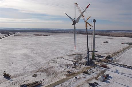 Russia added 50MW in 2019, taking its total installed capacity to 191MW (pic: Sarens)