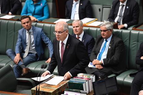 Australian prime minister Scott Morrison (pic: Scott Morrison / Facebook)