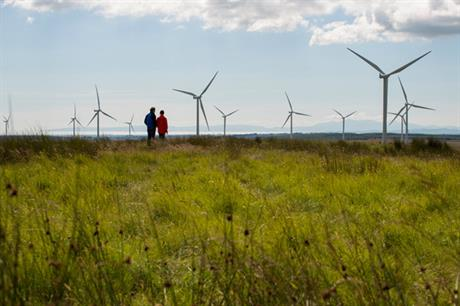 Iberdrola's UK renewables business helped offset poor production in Spain