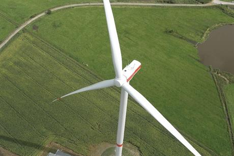 The first prototype installation of Senvion's 3.6M140 was completed in Husum, northern Germany, in September