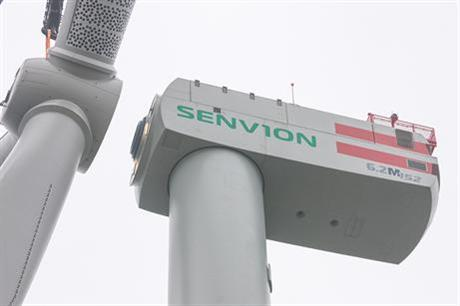 Senvion installed in the prototype in December