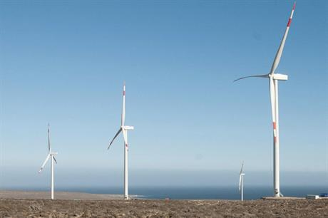 Aela Energia's 170MW Sarco project (above) consists of 50 Senvion 3.4M114 turbines