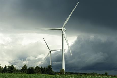 Wpd's White Pines project was due to feature nine Senvion MM92 2MW models