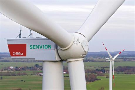Senvion recorded a loss in earnings in the first quarter of 2016