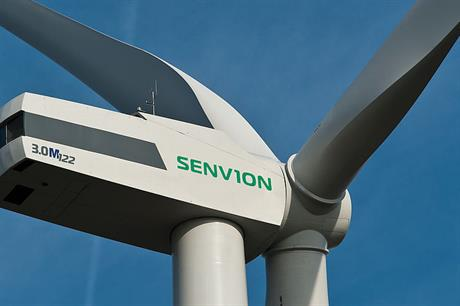 Senvion's 3MW turbine will be installed at the Aurora project in southern Chile