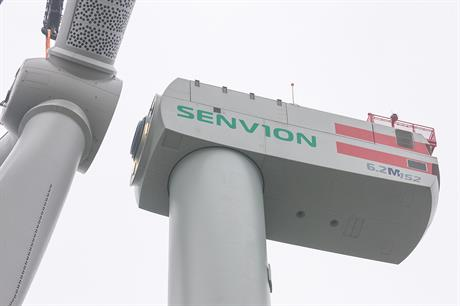 Losing ground offshore... Senvion's 6.2MW offshore wind turbine