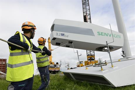 SGRE are in exclusive talks to buy selected parts of Senvion's business