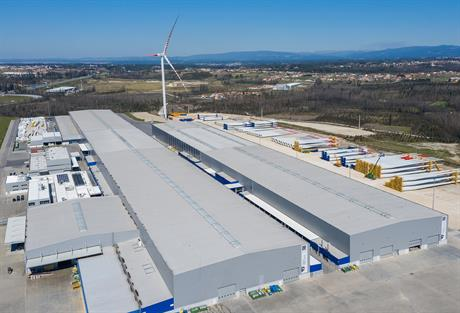 The Ria Blades plant in Vagos, Portugal -- now owned by SGRE