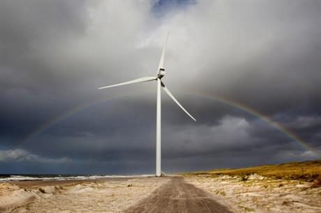 Vestas V117 3.3MW turbine was used at the first Serbian wind project