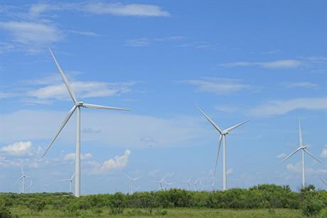 Innergex acquired a 50% stake in the 204MW Shannon wind farm in Texas (above) from Alterra Power