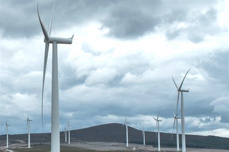 Scotland has approximately 60% of the UK's installed onshore wind capacity