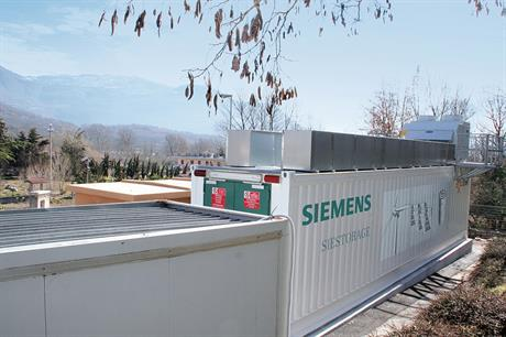 Fluence will offer Siemens' Siestorage battery and AES' Advancion solution