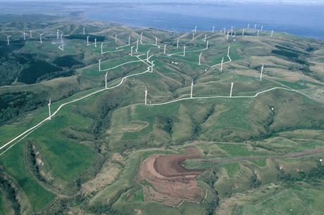 Eurus Energy's 57MW Soya Misaki wind farm on Hokkaido