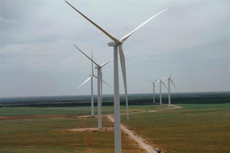 Starwood Energy's 211MW Stephens Ranch site in northwest Texas