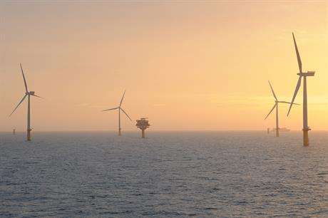 GIB owns a 20% stake in the Sheringham Shoal offshore wind project