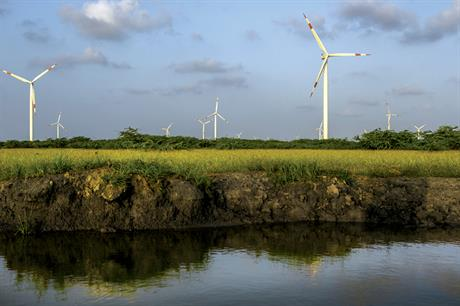 Indian states of Maharashtra and Gujarat are holding wind tenders (pic: Suzlon)