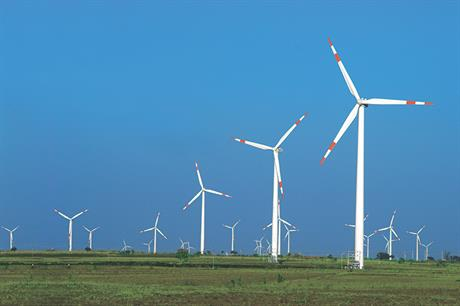 Shares in Suzlon have risen 46% in 2020 to INR 2.7/share - their highest value since 13 November 2019