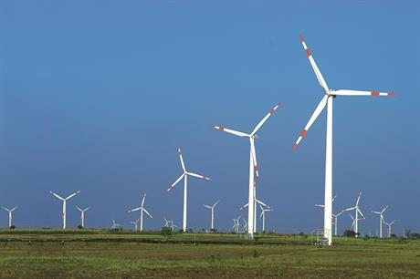 India's wind sector has been revived following a move to an auction-based system (pic: Suzlon)