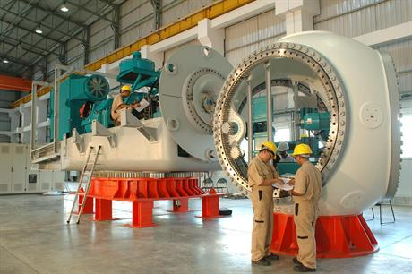 The Indian industry believes it can overcome any skills shortage it faces as the market grows rapidly (pic: Suzlon)