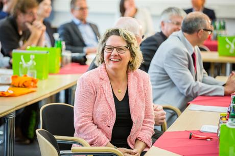 No laughing matter: environment minister Svenja Schulze is under fire from Germany's wind power sector (pic: EnergieAgentur.NRW)
