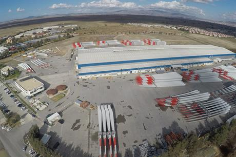 TPI Composite's plants in Izmir will supply rotor blades for Enercon's new EP3 turbine platform