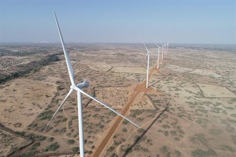 When completed, Taiba N'Diaye will consist of 46 of Vestas' V126-3.45MW turbines