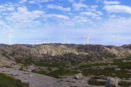 Norsk Vind Energi's 160MW Tellenes wind farm in Rogaland, south-west Norway