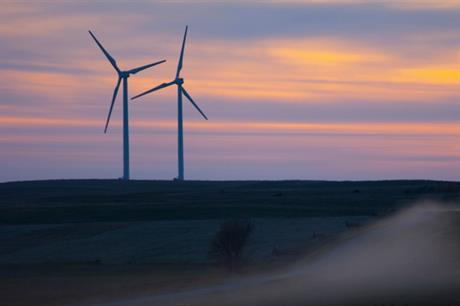 BP's Titan 1 wind farm in South Dakota, United States