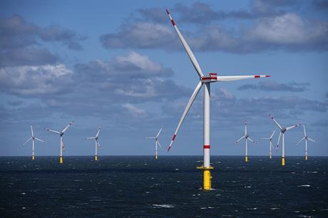 Trianel Windpark Borkum II consists of 32 Senvion 6.33MW turbines