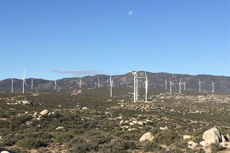 The study was carried out at Avangrid's Tule wind farm in southern California