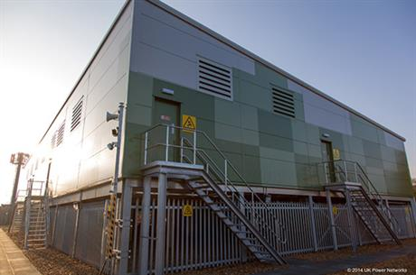 UK Power Networks' storage facility in Leighton Buzzard, UK