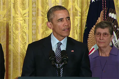 US President Barack Obama outlines the Clean Power Plan