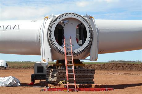 The Horse Creek and Electra wind farms went online last year (pic: Starwood Energy)
