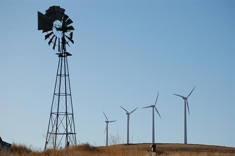 From humble beginnings: the US has now tipped over 100GW of installed wind capacity