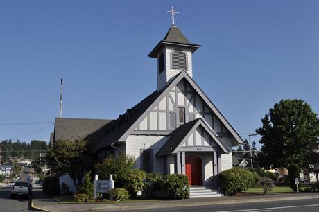 Saint Andrew's Episcopal Church, Aberdeen, Washington (pic credit: Joe Mabel/Wikimedia Commons)