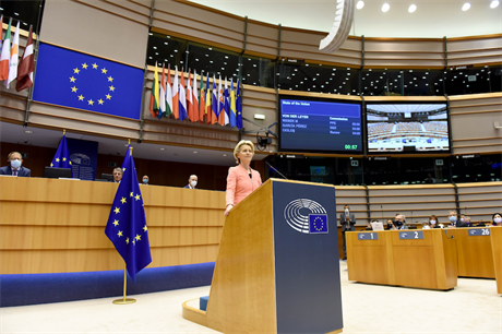 European Commission president Ursula von der Leyen made the announcement during her first State of the European Union address