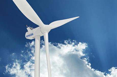 EDF has made a solid order for 40 Vestas V100 2MW turbines