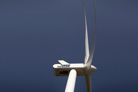 Vestas' V100 turbine will be installed at the Palomas project in Uruguay
