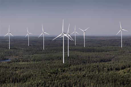Vestas will supply 52MW of its V112-3.45MW turbine (above) with two different power ratings