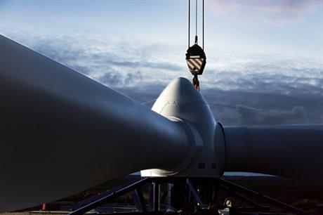 Vestas received its first order for its V116-2MW turbine, a prototype of which was installed in Denmark in December (pic: Vestas Wind Systems)