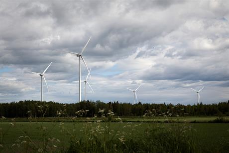 Vestas V126-3.45MW turbines will power the Cactus Flats project in Texas (pic: Vestas Wind Systems A/S
