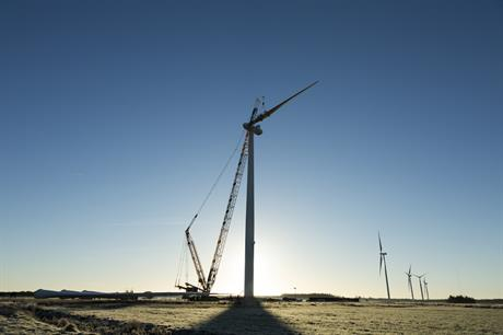 The 28 V136-3.45MW turbines will be uprated to 3.8MW (pic credit: Vestas)