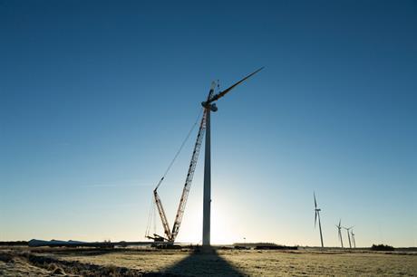 The order includes nine Vestas V136-4.2MW and seven V126-3.45MW turbines