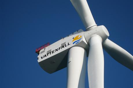 Vattenfall has reduced investment in its wind activities