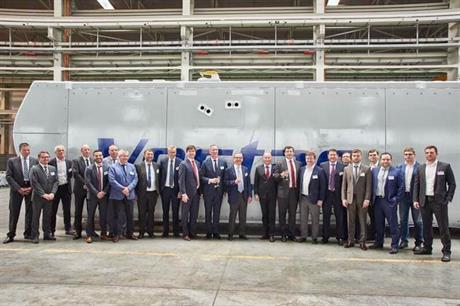 Vestas officially opened its new nacelle factory on 18 May (pic credit: RAWI)