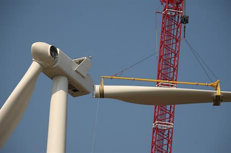The project will feature V100-2MW turbines