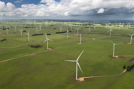 Vestas' V112 turbine was installed at the 420MW Macarthur project in Victoria, Australia
