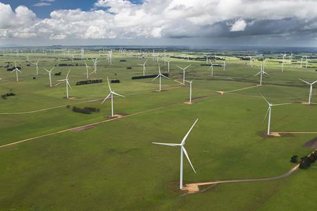 The 420MW Macarthur project is the largest wind farm in Victoria, Australia